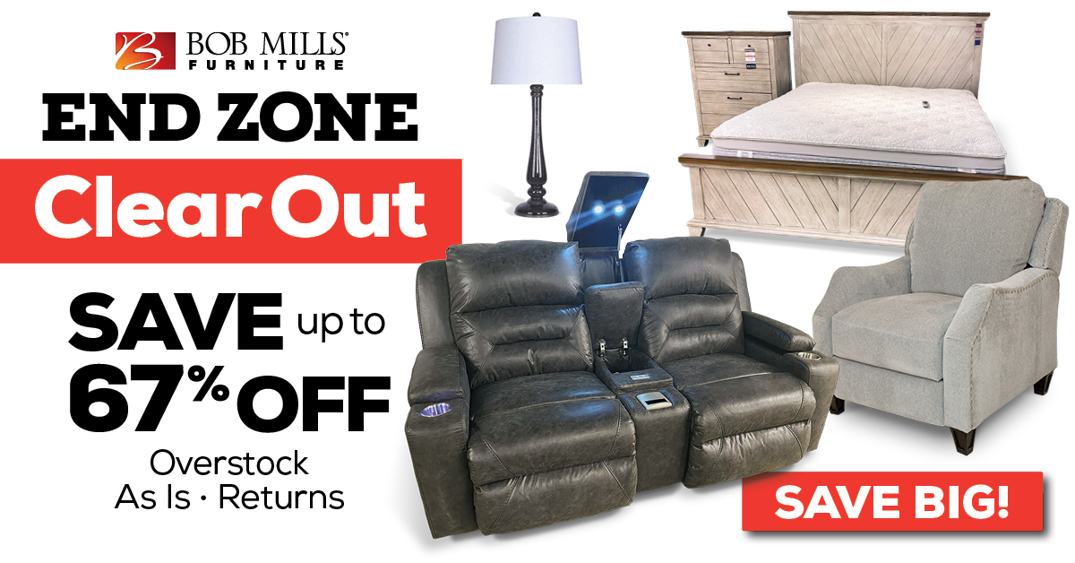 End Zone Furniture Clearance